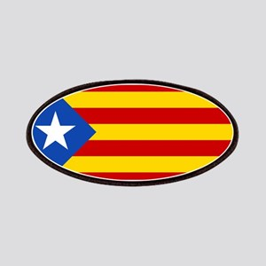 LEstelada Blava Catalan Independence Flag Patches