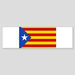 LEstelada Blava Catalan Independence Flag Sticker