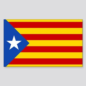 LEstelada Blava Catalan Independence Flag Sticker