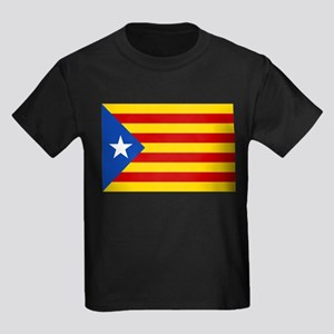 LEstelada Blava Catalan Independence Flag Kids Dar