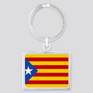 LEstelada Blava Catalan Independence Flag Landscap