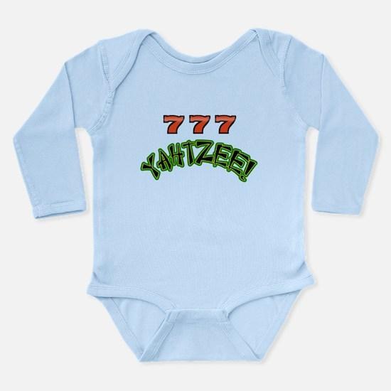 777 Yahtzee Long Sleeve Infant Bodysuit