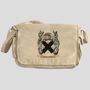 Cristian Family Crest - Cristian Coa Messenger Bag