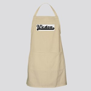 Black jersey: Weston BBQ Apron