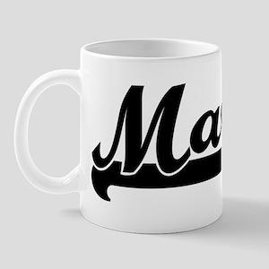 Black jersey: Marty Mug