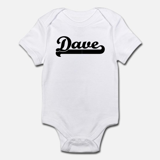 Black jersey: Dave Infant Bodysuit