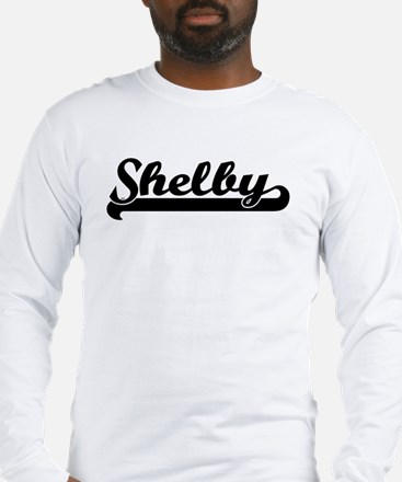 Black jersey: Shelby Long Sleeve T-Shirt