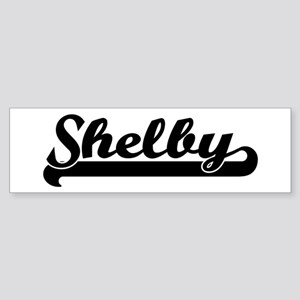 Black jersey: Shelby Bumper Sticker