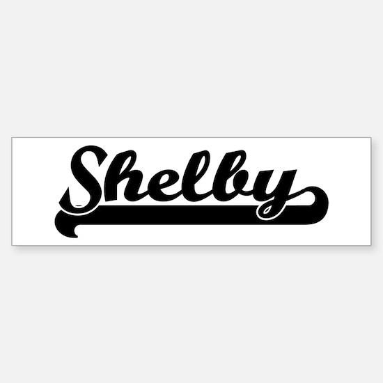 Black jersey: Shelby Bumper Bumper Stickers