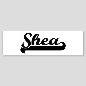 Black jersey: Shea Bumper Sticker