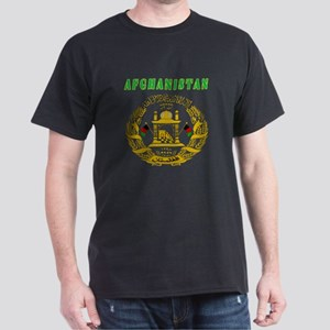Afghanistan Coat of arms Dark T-Shirt