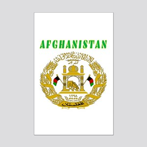 Afghanistan Coat of arms Mini Poster Print