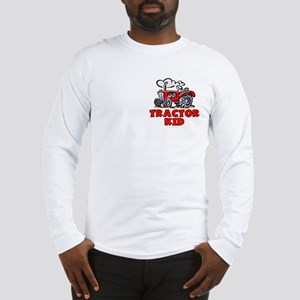Red Tractor Kid Long Sleeve T-Shirt