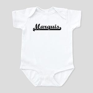 Black jersey: Marquis Infant Bodysuit