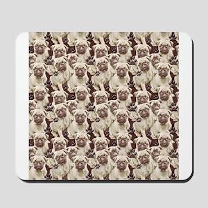 Pugs Everywhere Mousepad
