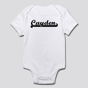 Black jersey: Cayden Infant Bodysuit