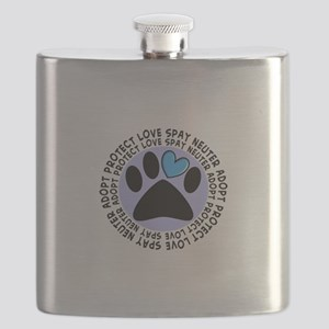SPAY NEUTER PENDANT Flask