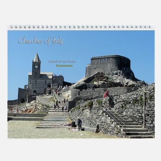 Churches of Italy Wall Calendar