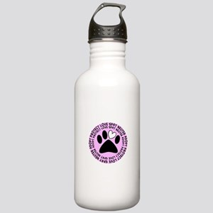 Spay neuter BIGGER PINK Stainless Water Bottle