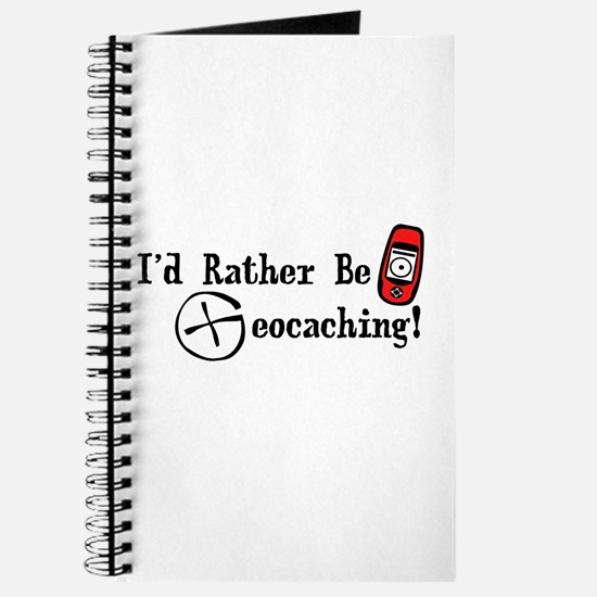 Rather Be Geocaching Journal