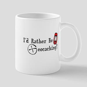 Rather Be Geocaching Mug