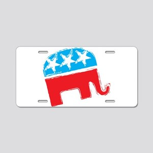 Republican Elephant Aluminum License Plate