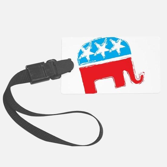 Republican Elephant Luggage Tag
