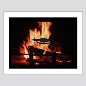 COZY FIRE™ Small Poster