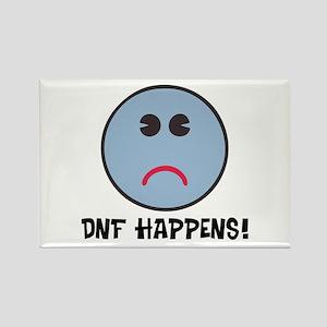 DNF Happens! Rectangle Magnet