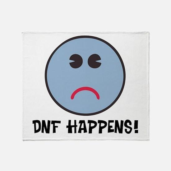 DNF Happens! Throw Blanket