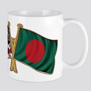Bangladesh-American Friend Ship Flag Mug