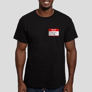 Carter's Dad Men's Fitted Dark T-Shirt