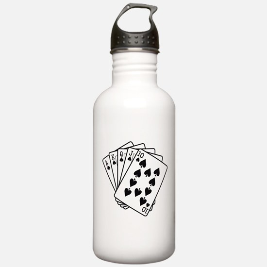 Royal Flush Water Bottle