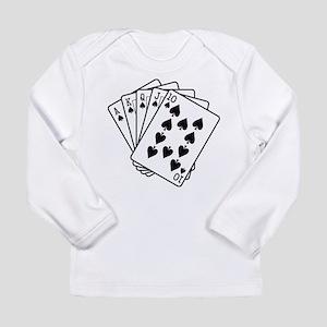 Royal Flush Long Sleeve Infant T-Shirt