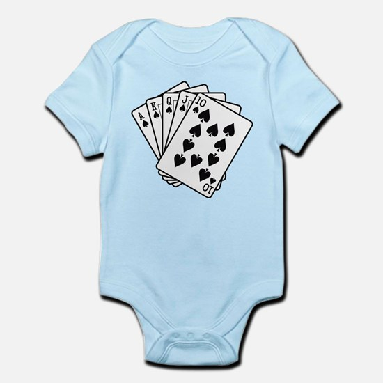 Royal Flush Infant Bodysuit