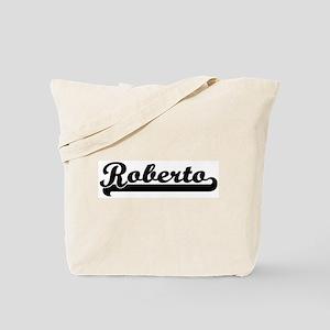 Black jersey: Roberto Tote Bag