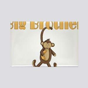 Big Brother Cute Monkey Rectangle Magnet