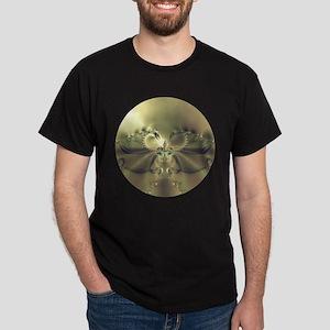 Metallic Flower Dark T-Shirt
