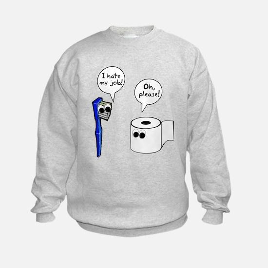 Tooth Toilet Paper Worse Job Sweatshirt