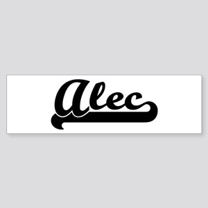 Black jersey: Alec Bumper Sticker