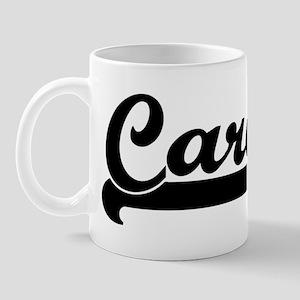 Black jersey: Carol Mug