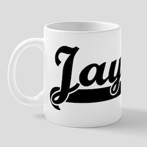 Black jersey: Jaylin Mug