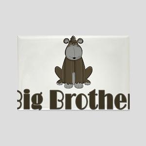 Big Brother Gorilla Rectangle Magnet