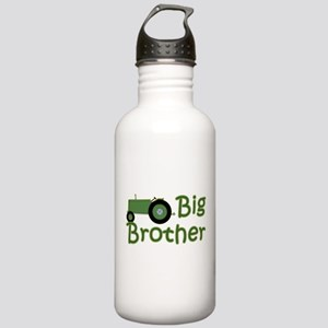 Big Brother Green Tractor Stainless Water Bottle 1