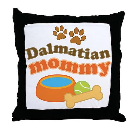 Dalmatian Mom Throw Pillow