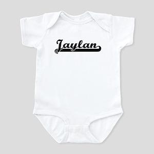 Black jersey: Jaylan Infant Bodysuit