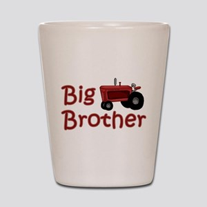 Big Brother Red Tractor Shot Glass