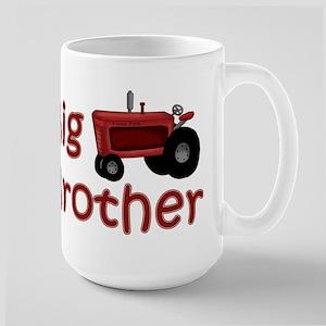 Big Brother Red Tractor Large Mug