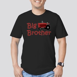 Big Brother Red Tractor Men's Fitted T-Shirt (dark