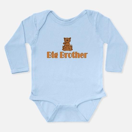 Big Brother Tiger Long Sleeve Infant Bodysuit